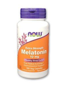 NOW Melatonin 10 мг 100 капс